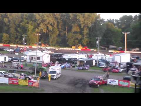 Stock Car Dash For Cash @ Hamilton County Speedway 07/30/16