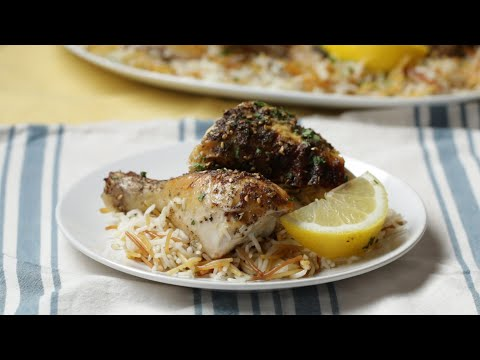 Za'atar Chicken and Rice Pilaf  • Tasty