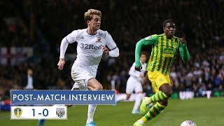Post-match Interview | Patrick Bamford | Leeds United 1-0 West Bromwich Albion