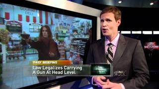 New Law Legalizes Brandishing Guns At Head Level (Season 1_ Ep 9 on IFC)