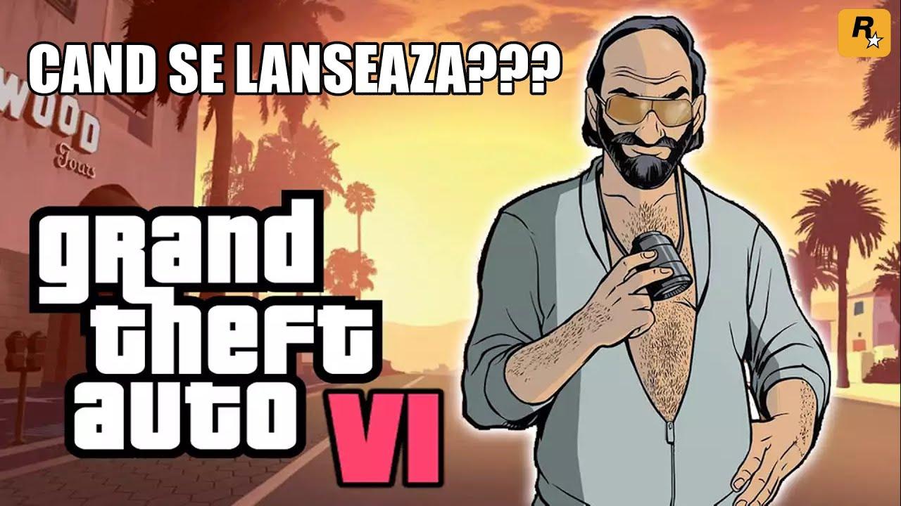 Cand se Lanseaza GTA 6 | Gta VI A fost anuntat de Rockstar Games!!