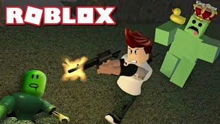 *Fighting with the SLIME KING in ROBLOX*
