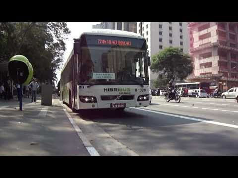 Novo Ônibus Híbrido (Volvo 7700), Caio Millennium II e Caio Mondego HA (Brazilian Buses)