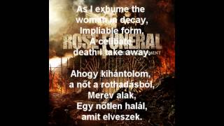 Rose Funeral - Malignant Amour (feat Kate Alexander) Lyrics + Hungarian Lyrics