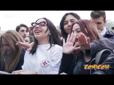 Napoli Comicon 2017 Day1