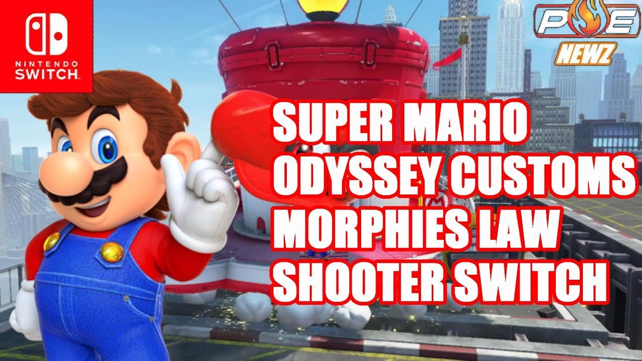 Unique Shooter Morphies Law Coming To Switch Super Mario Odyssey Switchsuper Customization More