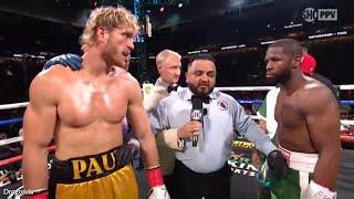 Floyd Mayweather versus Logan Paul Full Exhibition Fight Breakdown by Paulie G