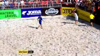 Украина - Швейцария 4:3. Пляжный футбол. Евролига 2013. Этап 1 (голы)