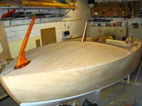 building homemade 15' wooden runabout