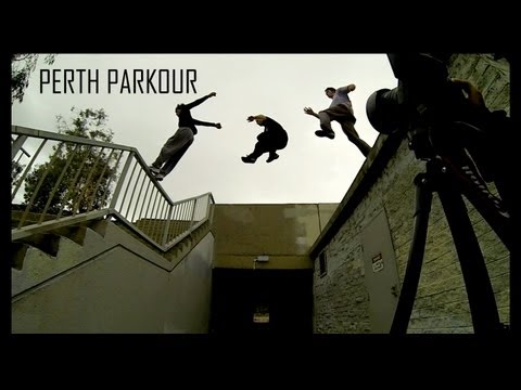 Perth Parkour - two and a half friends