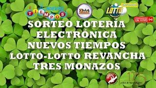 Sorteo Lotto y L. Revancha N°1998 Lot E.N. Tiempos N°17640 y 3 Monazos N°126 del 22/1/2020. JPS