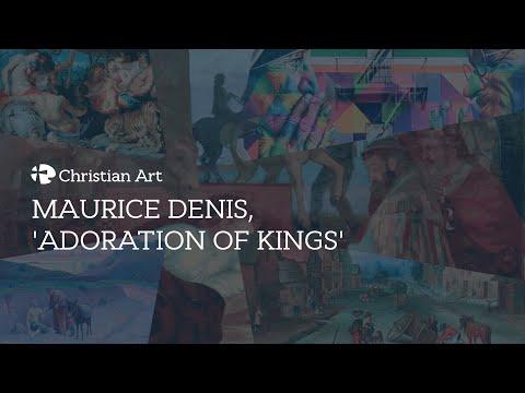 Maurice Denis, 'Adoration of Kings'