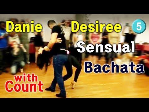 52. Bachata Workshop with Count. 1-5 Daniel & Desiree 2014 workshop. basic step pattern...