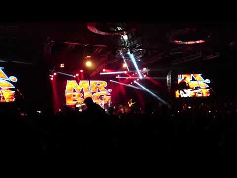 Mr Big : Daddy,Brother, Lover, Little boy (live in malaysia 2017) FULL HD 60FPS
