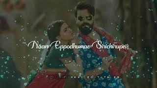 nesama ne kuda vantha song whatsapp status|avargalum ivargalum|aaravalli new song status|tamil love