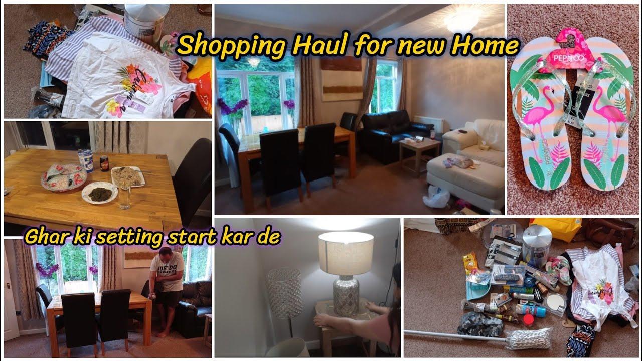Shopping Haul for new Home   Aaj ke dinning Table set   Poundland shopping haul