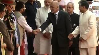 Afghanistan President Mohammad Ashraf Ghani meets PM Narendra Modi