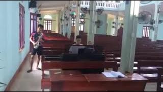 TRÔNG CẬY CHÚA hòa tấu (hòa tấu sacxophone Tài và elctone Josh  Tại gx Nhân Lộ -Thanh Hóa)