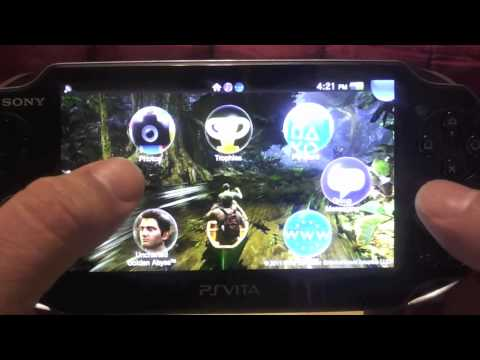 how to download games from ps vita browser