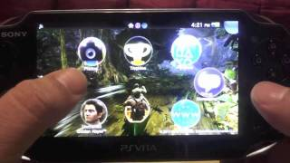 PS Vita Browser Download Feature