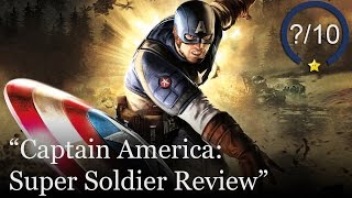 Captain America: Super Soldier Review (Video Game Video Review)