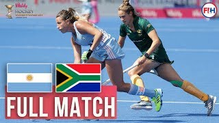 Argentina V South Africa Womens World Cup 2018 FULL MATCH