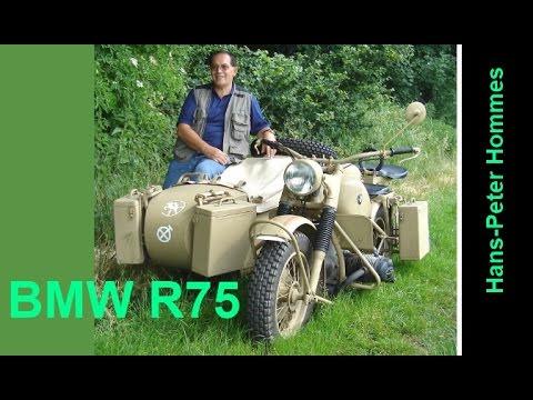 BMW R75 Von 1943 - Beschreibung - Detailed Discription