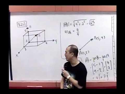Vector เวกเตอร์ ม.5 [2-2] ติวเลขเรียนพิเศษออนไลน์ By www.tutoroui-plus.com