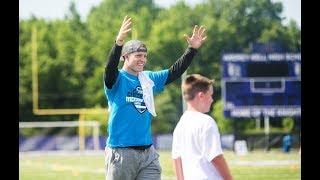 Coach Christian McCaffrey in the house!