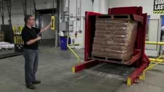 Optimum Floor Level Pallet Inverter ideal for pallet trucks...