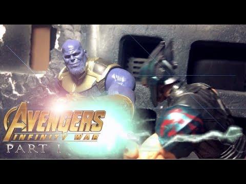 Avengers: Infinity War (PART 1) Stop-motion