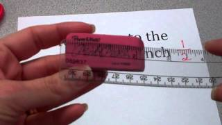 Measuring to the Nearest Inch and Half Inch