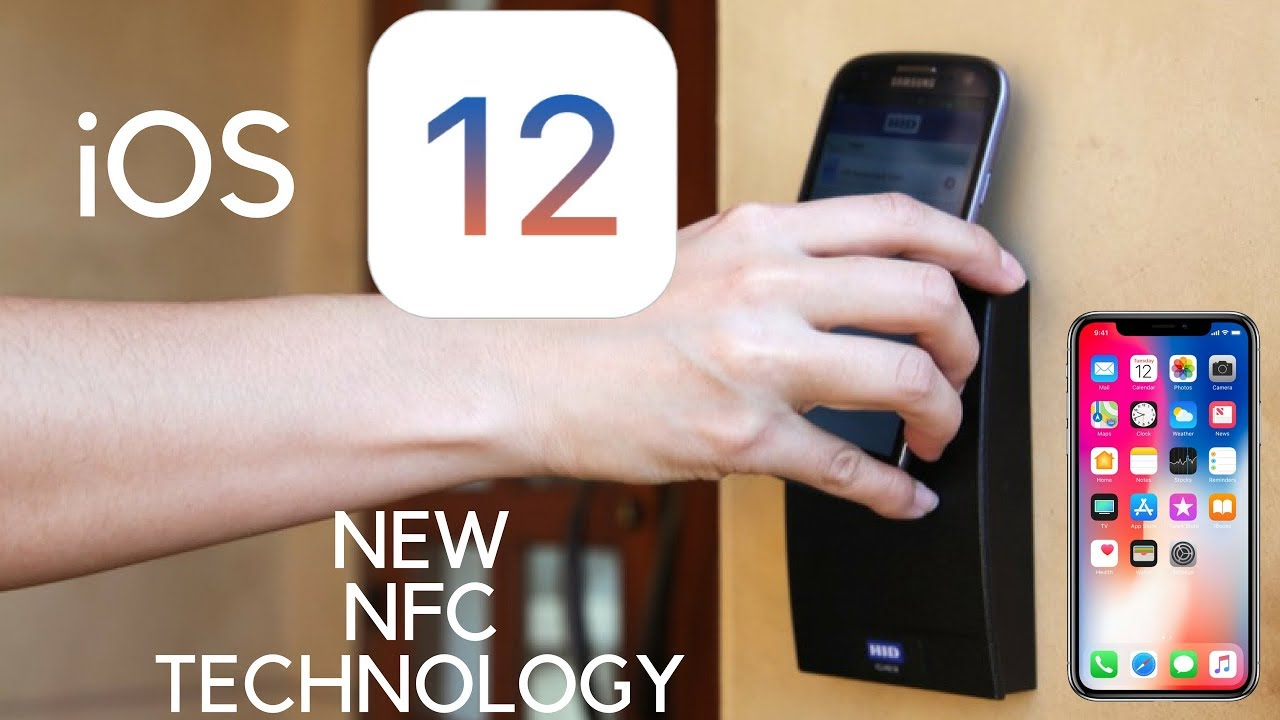 iOS 12 -- NEW NFC TECHNOLOGY! Open Hotel Doors With Your iPhone