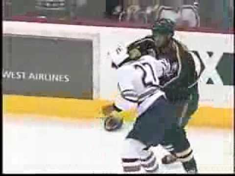 Matt Johnson vs Georges Laraque Round 11