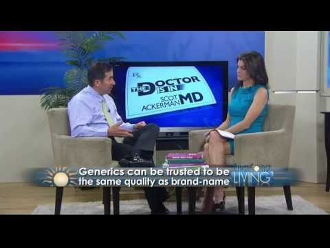 The Doctor is In:Generic vs. Brand Name Drugs