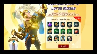 Lords Mobile Free $50 Gift Package