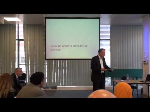 Writing a Literature Review Part II - Management and Business Academy Seminar