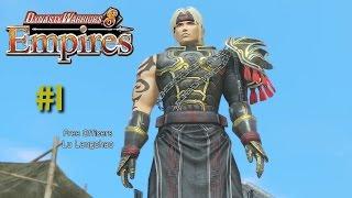 Dynasty Warriors 8 Empires [PS4] | Empire Mode | Lu Langchao! #1