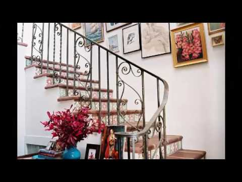 Decoracion de escaleras interiores youtube for Escaleras para interiores