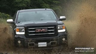 2015 GMC Sierra takes on motocross