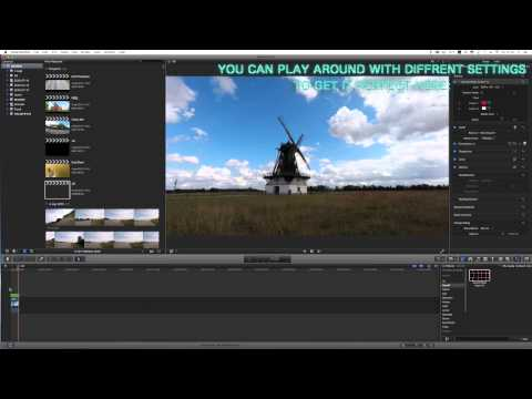 How To Remove Fisheye Effect In Final Cut Pro X