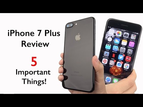iPhone 7 Plus Review: 5 Important Things to Know!