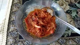 Samba Lado Tomat Khas Minang Sumatra Barat