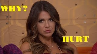 """Big Brother 20 Angela Admits She's """"Hurt"""" by Tyler and Kaycee's Final 2 Deal"""