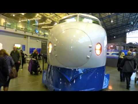 Shinkansen Japanese Bullet Train at National Railway Museum York