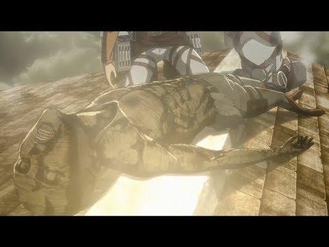 Armin's  Sacrifice [Attack On Titan S3  Ep 17]