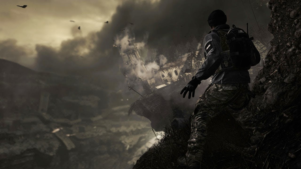 Helicopter Full Hd Wallpaper Official Call Of Duty Ghosts Reveal Trailer Youtube