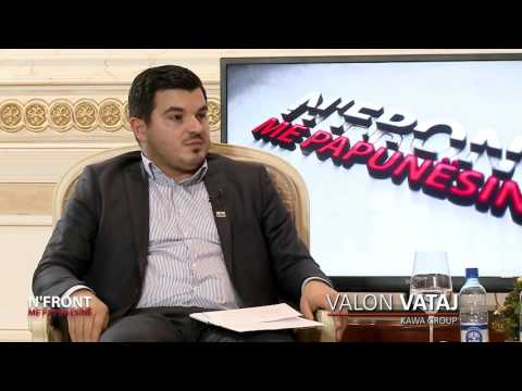 Në Front me Papunësinë - RTK - Emisioni I 7 - 26.12.2015