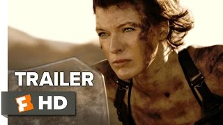 Resident evil: the final chapter official trailer 2 (2017) - milla jovovich movie
