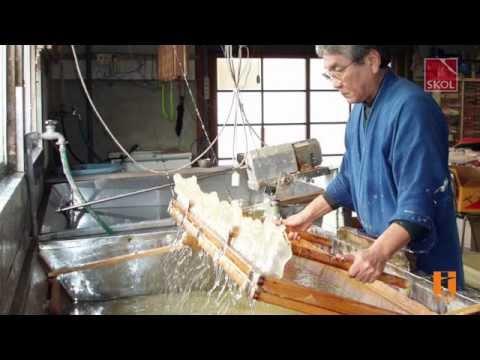 KOZO V | Японские обои ручного изготовления из бумаги васи